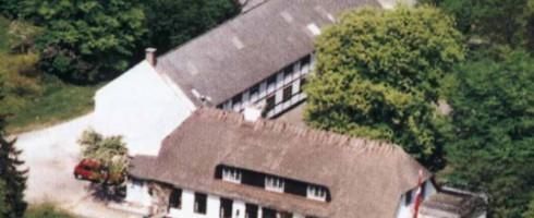 Hulemosegård luftfoto